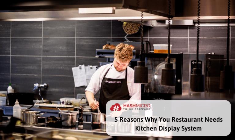 5 Alasan Pentingnya Kitchen Display System untuk Restoran