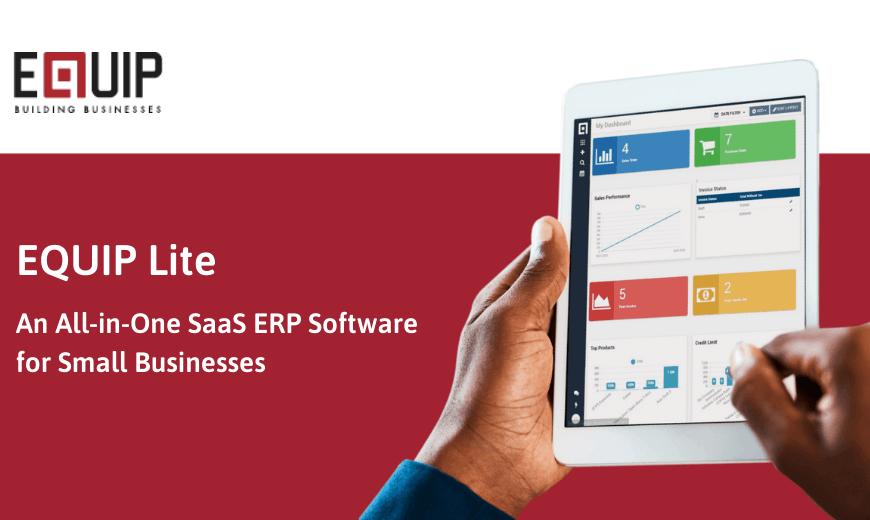 EQUIP Lite, Sistem SaaS ERP Terlengkap untuk UMKM