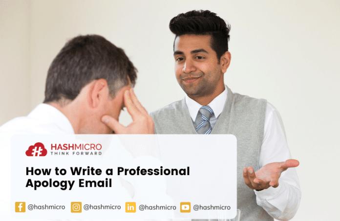 Menyusun Email Permintaan Maaf Profesional