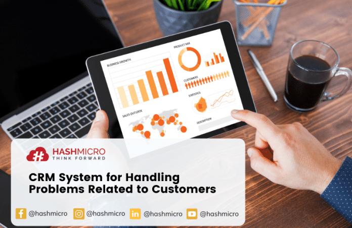 Sistem CRM untuk Menangani Permasalahan Umum Terkait Pelanggan