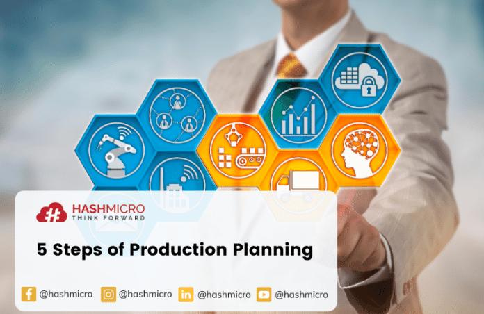 5 Tahap Perencanaan Produksi