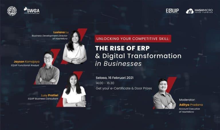 Bangkitnya ERP dan Transformasi Digital dalam Bisnis
