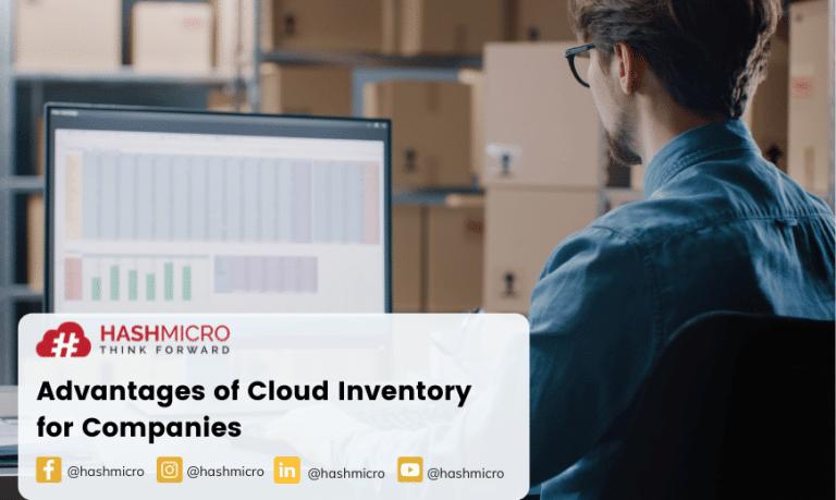 Keunggulan Cloud Inventory bagi Perusahaan