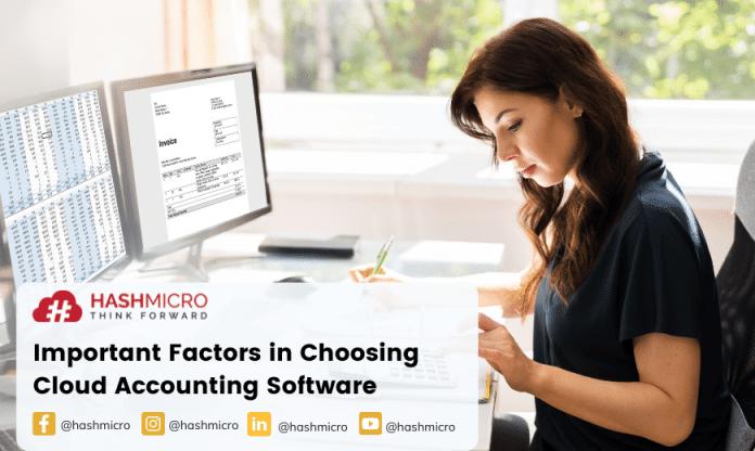 Perhatikan Faktor Berikut saat Memilih Software Akuntansi Cloud