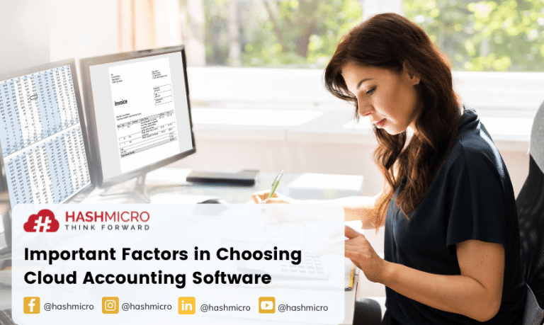 Faktor Penting saat Memilih Software Akuntansi Cloud