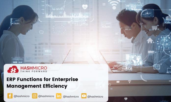 Fungsi ERP bagi Efisiensi Manajemen Perusahaan