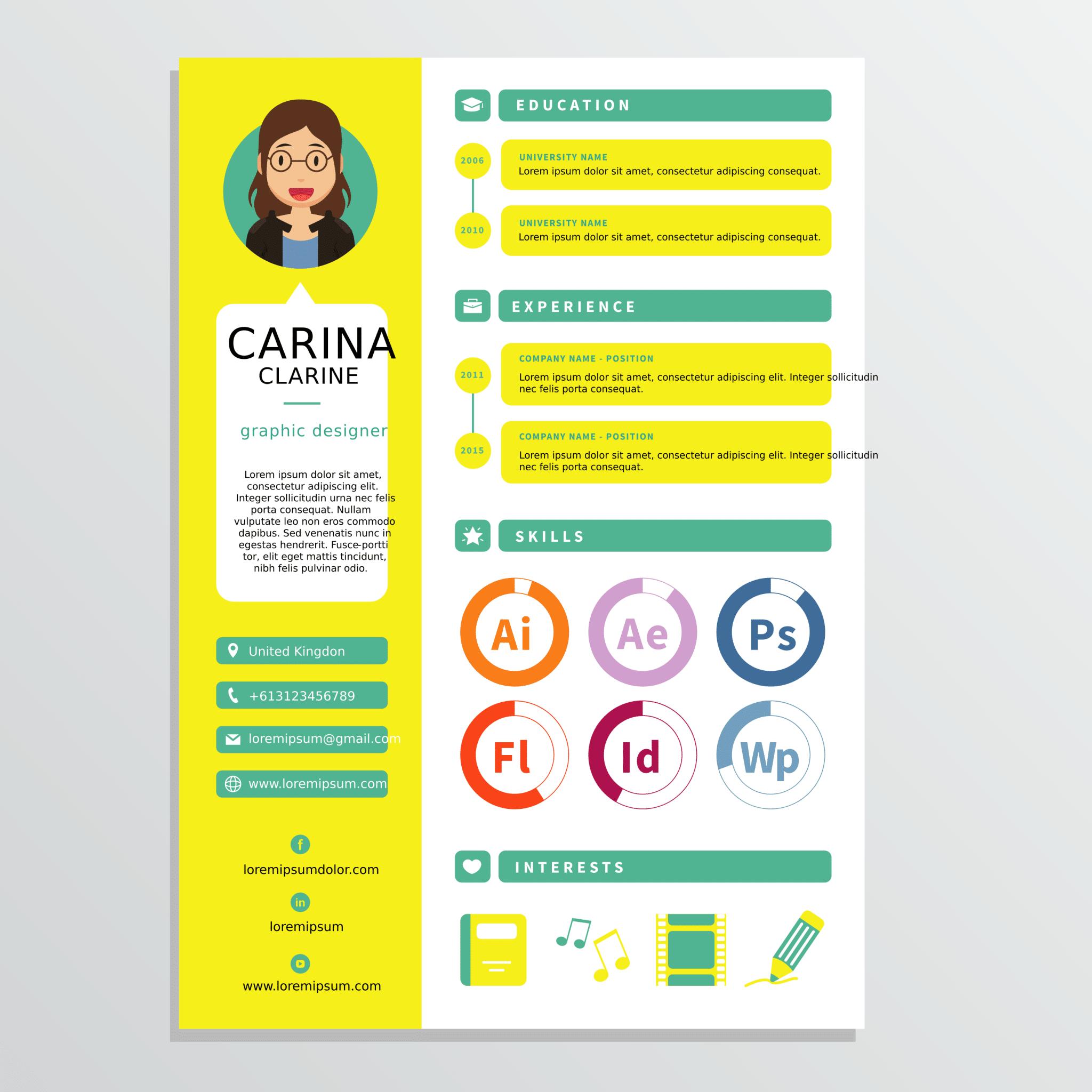 Cara membuat design CV