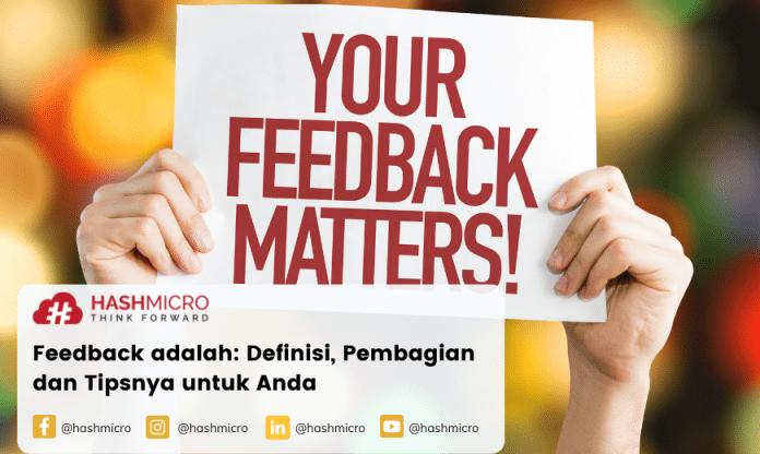 feedback adalah sebuah umpan balik